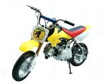 18-Dirt bike -70 cc