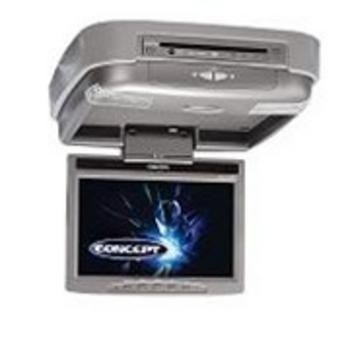 Flipdown Digital LCD Monitor Combo Unit