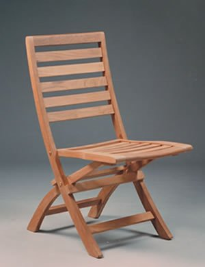 Andrew Folding Chair Teak