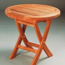 Mini Side Round Folding Table