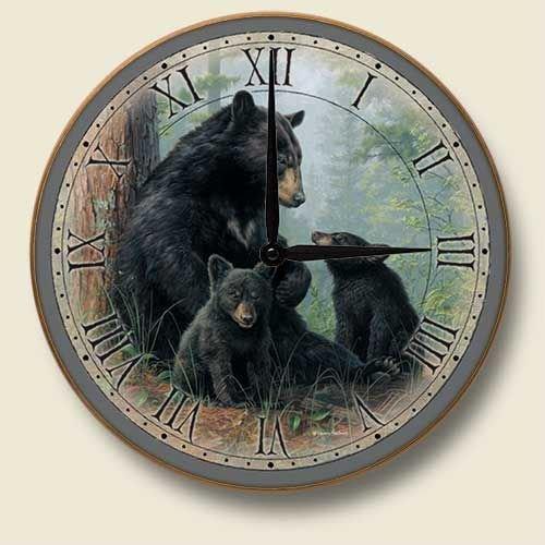 Black Bears clock