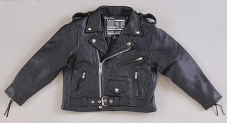 plain motorcycle jacket