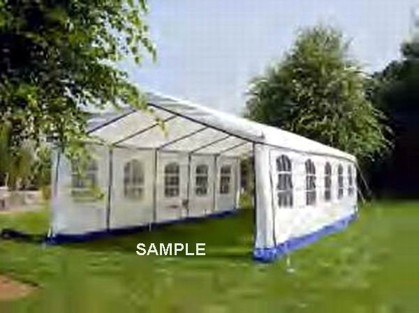 Fourteen foot party tent