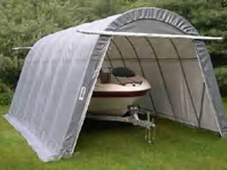 Boat- SUV Round Style Garage