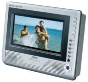 Tablet-Style Portable DVD Player