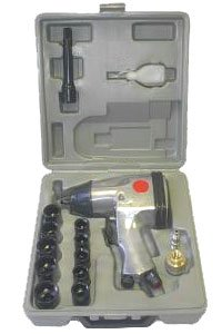 1/2in Air Impact Wrench Kit With Case