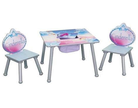 Princess Cinderella Storage Table and Chair Set