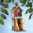Fire Station 2 Story Bird House