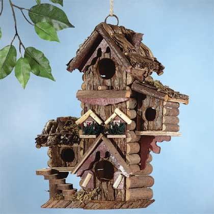 Gingerbread Style Bird House