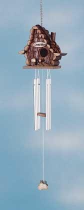 Wind Chime Love Nest Bird House