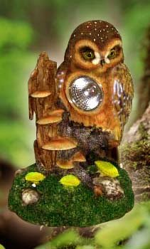 Owl Solar Lamp