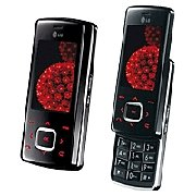 KG800 Chocolate Tri-Band Phone