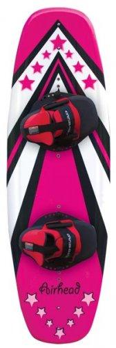 Pink Wakeboard w-Wrap Binding