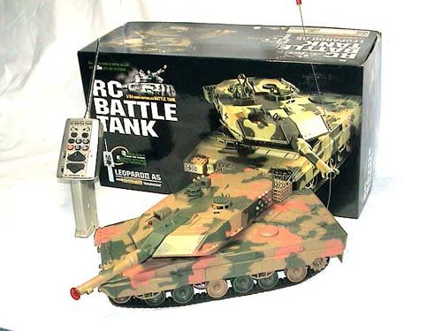 Leopard A-5 RC Battle Military Tank