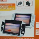 7in Widescreen Portable DVD Player with Extra Monitor