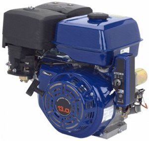 OHV horizontal shaft gas engine 13 HP