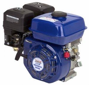 Horizontal shaft 6.5 HP overhead valve gas engine