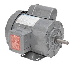 Single phase 2 HP  electric motor