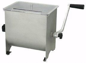 4.2 gallon stainless steel meat mixer