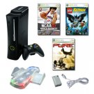 Elite Xbox 360 120GB Console w- 2 Bonus Games