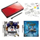 Red Bundle-Nintendo DS- 2 Games