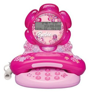 Telephone Caller ID Barbie Blossom