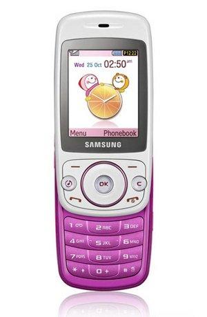S3030 Samsung Tobi GSM Tri-Band Sweet Pink