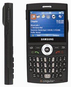 Blackjack Samsung PDA Phone