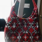 red design handbag
