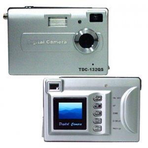 Digital Camera, 3M Pixel, 8MB Int.Mem., SD/MMC Slot