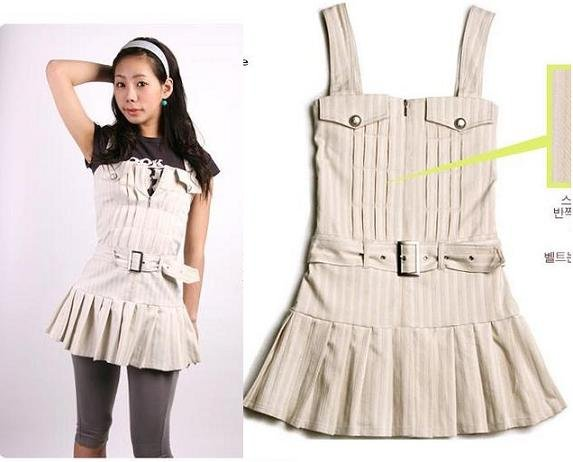 SOLD Gmarket Korean One piece Dress / Shirt