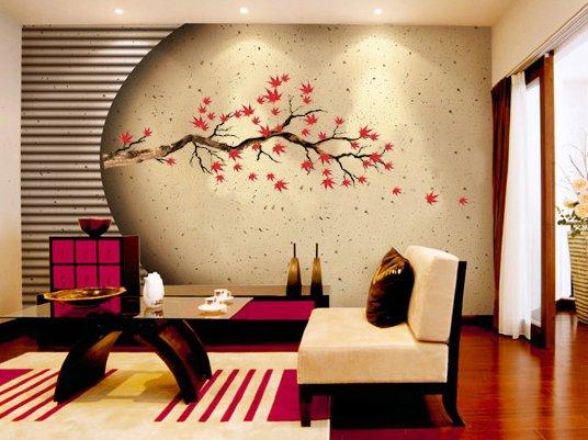 CP-012 Maple Tree Wall Decor Art Adhesive Sticker - Free shipping