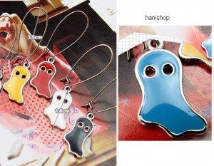 Korean Drama Jeong Ryeo Won Cute Blue Ghost Earrings