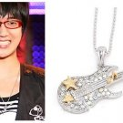Korean Super Junior Suju Yesung Electric GUITAR Necklace