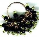 "Glass Beaded Cluster Adjustable Bling Ring ""Razzle Dazzle"" - PreciousThings.ecrater.com"