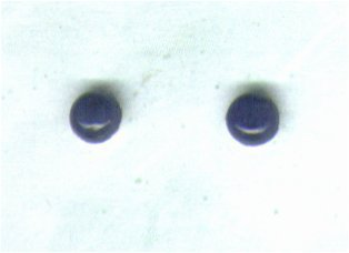Sodalite Gemstone & Sterling Silver 4mm Stud Earrings - PreciousThings.ecrater.com