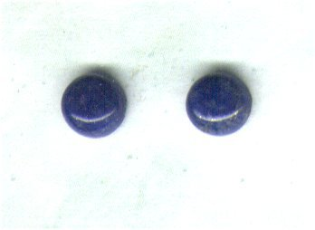 Sorry, Temporarily Out of Stock - Lapis Lazuli Gemstone & Goldfilled 6mm Stud Earrings