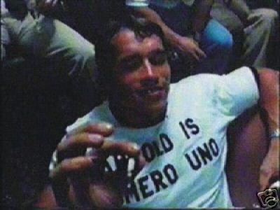 5x Arnold Schwarzenegger Bodybuilding T-Shirt