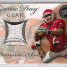 2008 Press Pass SE Game Day Gear Jerseys Silver #GDGDA - Donnie Avery