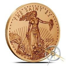 Zombucks® Saint 1 oz Copper Round