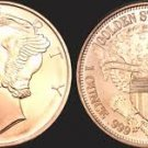 """ Mercury Head ""1 Ounce Rounds Copper Coin"
