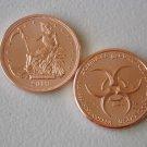 Zombucks® Slayed Dollar 1 oz Copper Round