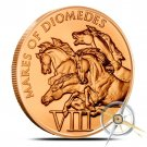 Mares of Diomedes 1 oz Copper | The 12 Labors of Hercules