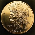 Zombucks® Feast Dollar 1 oz Copper Round
