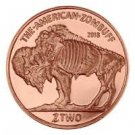 Zombucks™ ZomBuff 1 oz Copper Round