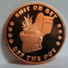 1 Oz Copper Get Off The Pot 4:20 Round
