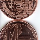 Freedom Tower – WTC – 1 Ounce Rounds Copper Coin