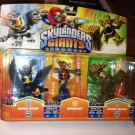 Skylanders Giants 3 pack Sonic Boom Sprocket Stump Smash