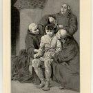 The Last of the Merovingians, original antique print