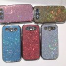 1pc  samsung galaxy s3 case, glitter cases, glitter galaxy s3 cover